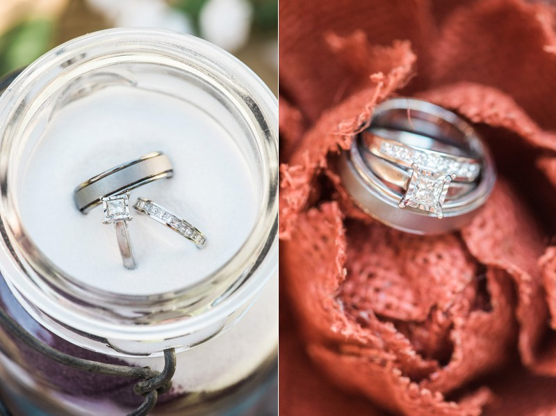 Sand Wedding Rings