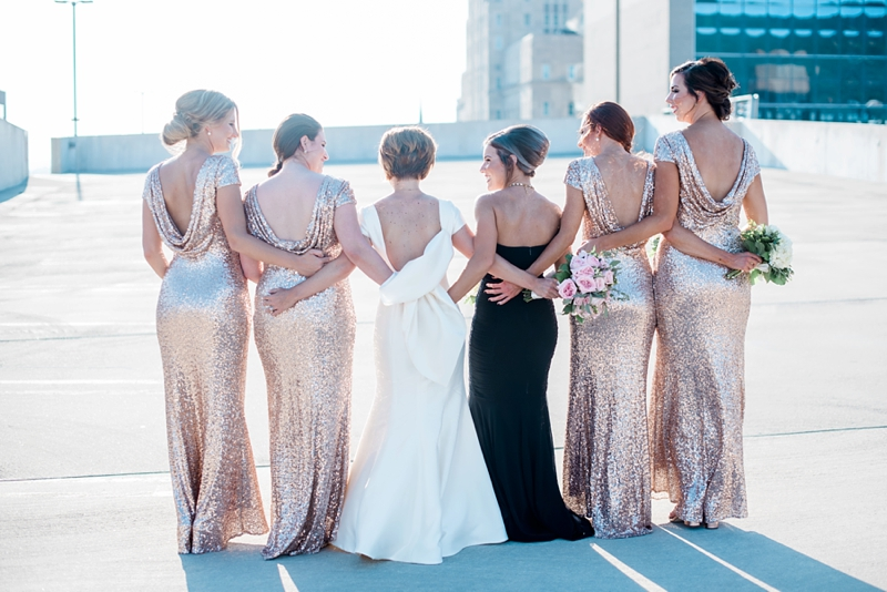 Open Back Bridesmaid Dresses