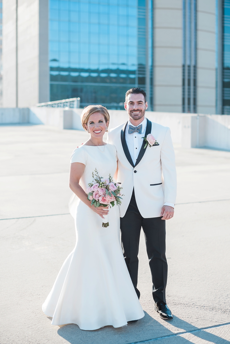 Parking Garage Wedding Photos