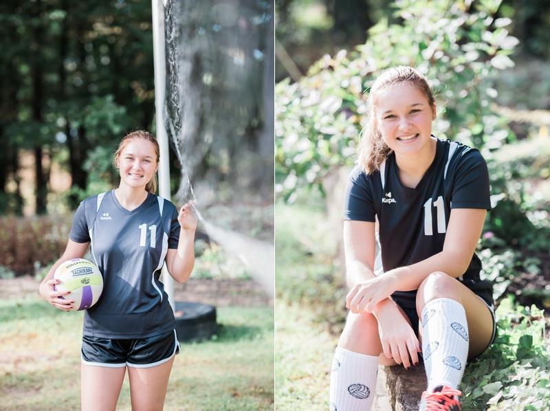 Volleyball senior photos