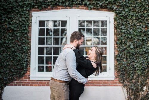 Longwood Gardens Engagement Shoot